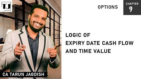 Expiry date cash flow and time value