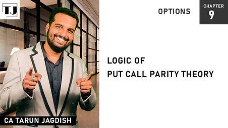 Put call parity theory