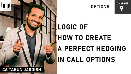 How to create a perfect hedging in call option