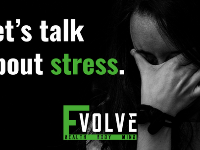 Let's talk about stress.