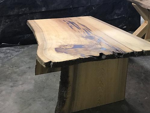 Epoxy Cypress Slab Table
