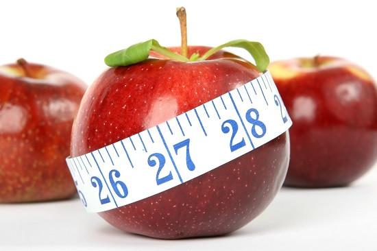 omena mittanauhalla