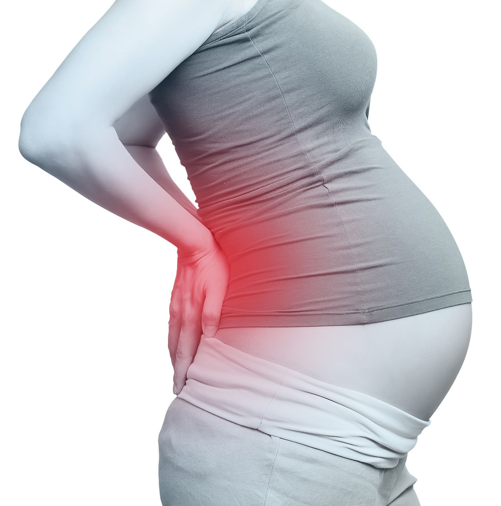 pain lower pregnancy back and