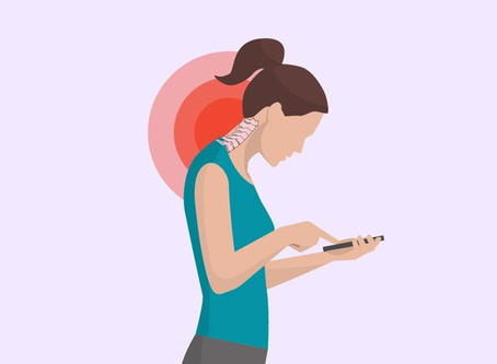 """""""Text Neck"""" – the cell phone disease"""