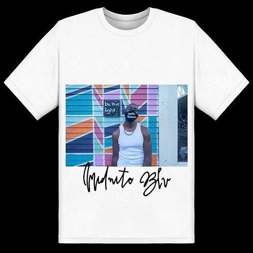 White Midnite Blu Shirt