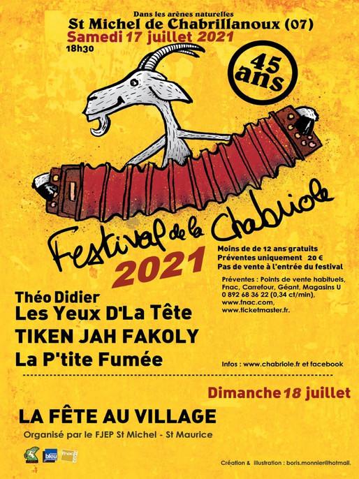 FESTIVAL DE LA CHABRIOLE 2021