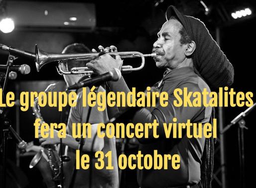 NEWS : Le groupe légendaire Skatalites fera un concert virtuel le 31 octobre