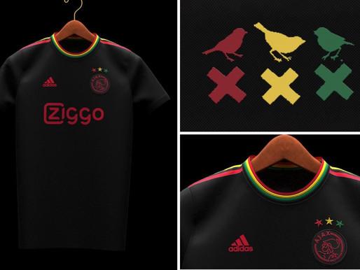 Un maillot de l'Ajax inspiré de Bob Marley fait l'objet d'une fuite et suscite l'émoi des fans de fo