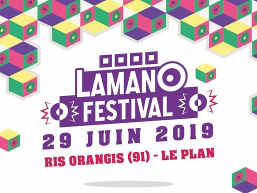 JEU CONCOURS : LAMANO FESTIVAL (29/06/19) -  PARTENAIRE