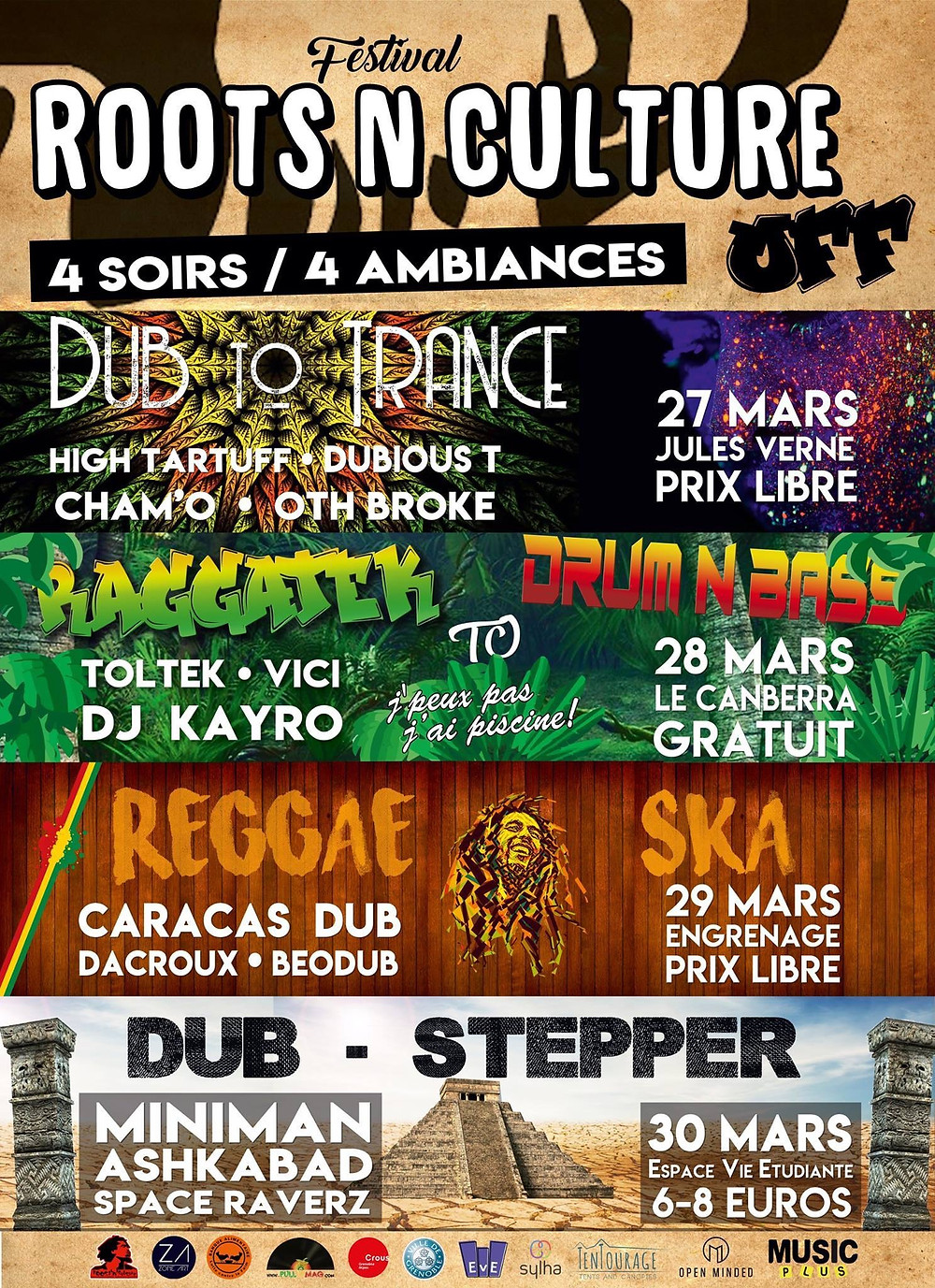 Festival Off Roots'n'Culture  2018