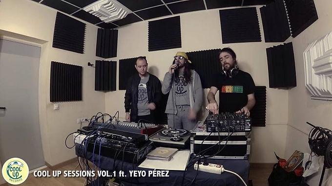 Live : CoolUpSessions Vol.1 ft. Yeyo Pérez