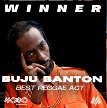 Buju Banton remporte le prix du meilleur acte reggae aux MOBO Awards 2020