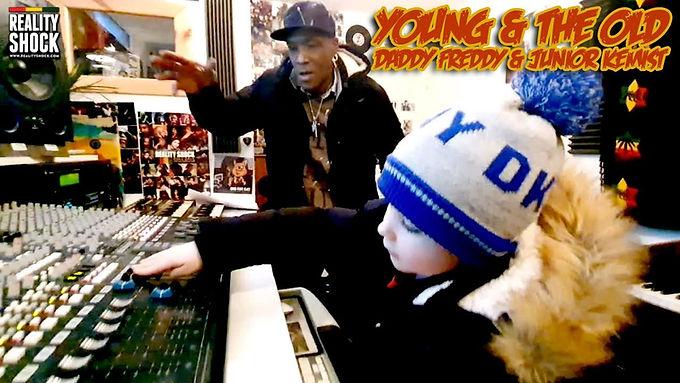 Clip : Un producteur de 5 ans rencontre DADDY FREDDY !