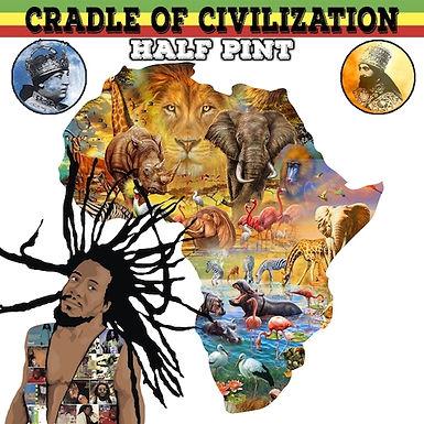 HALF PINT - CRADLE OF CIVILIZATION | MANUDIGITAL MEETS RASTAR ALL STARS