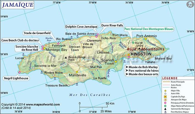 Les voyageurs en visite en Jamaïque et Covid-19 !