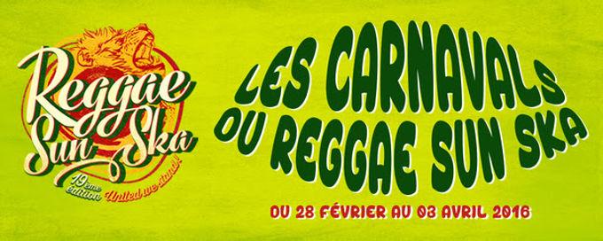 Les Carnavals Du Reggae Sun Ska 2016