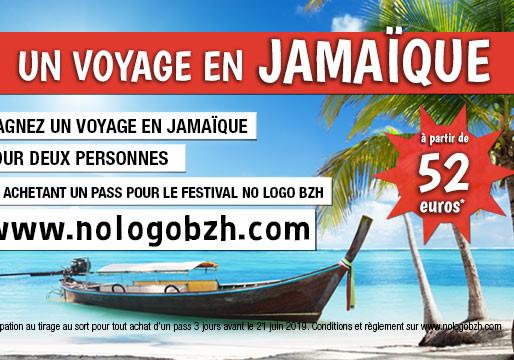 NO LOGO BZH : Un voyage En Jamaïque @ Gagner !