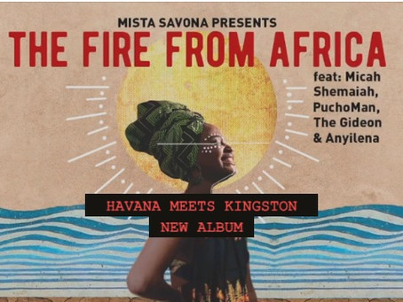 Nouvel Album  : Havana meets Kingston II - The Fire From Africa