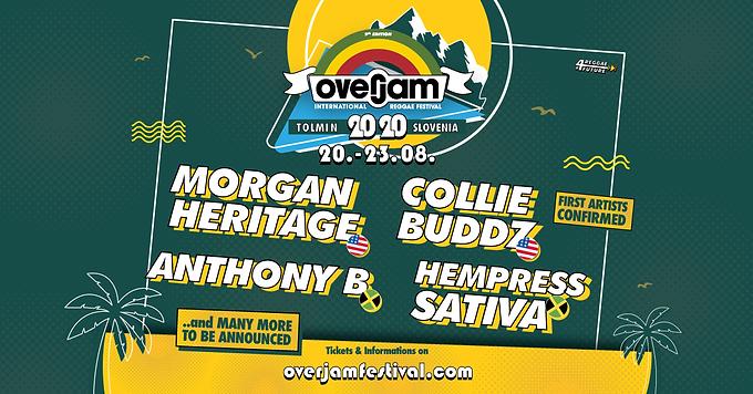 OverJam Festival 2020 : Premiers Artistes !