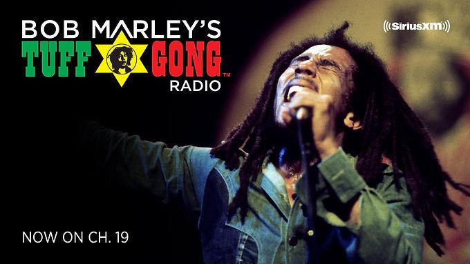 La radio Tuff Gong de Bob Marley apporte le Soca et l'Afrobeats à SiriusXM !