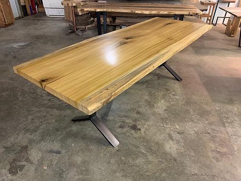 Single Slab Poplar Dining Table