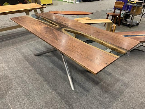 Walnut Route 66 Dining Table