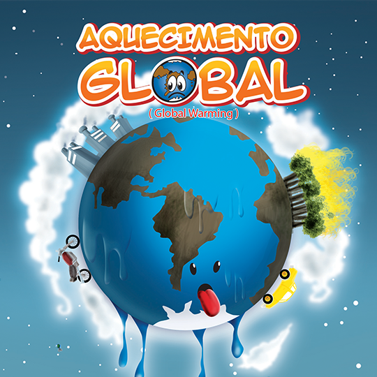capa cartilha aquecimento global