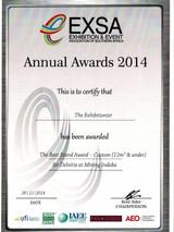 2014_Best Design Stand_Deloitte-EXSA_Awa