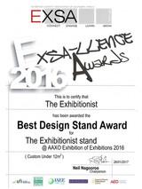 2016_Best Design Stand_The Exhibitionist