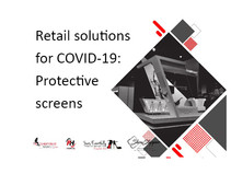 Retail solutions for COVID-19: Protective screens