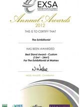 2012_Best Design Stand_The Exhibitionist