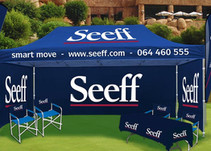 Why your business needs branded flags and gazebos