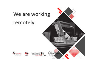 We are working remotely