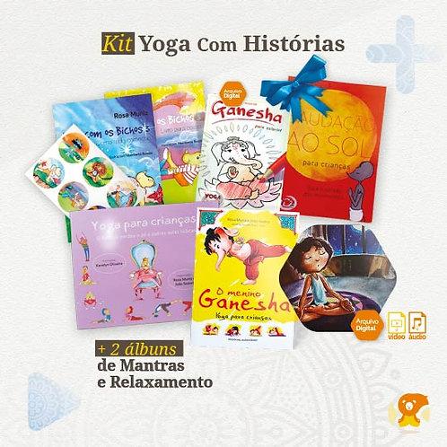 Kit Yoga Com Histórias