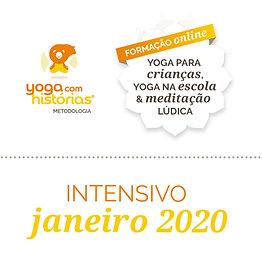 Intensivo - Formação Online de Yoga Para Crianças