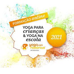 Extensivo - Formação Online de Yoga Para Crianças