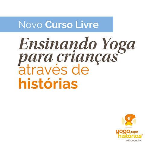 Curso Livre Ensinando Yoga Para Crianças Através de Histórias