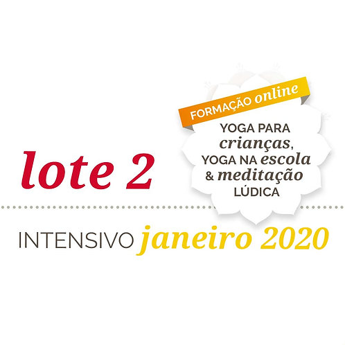 Lote 2 | Intensivo - Formação Online de Yoga Para Crianças