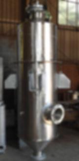 Condensador de contato direto - mistura - a vácuo