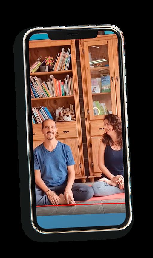 João e Rosa do Yoga Com Histórias