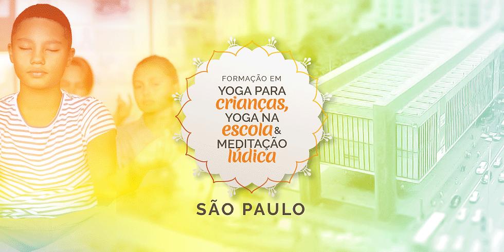 SP | INTENSIVO Formação em Yoga para Crianças