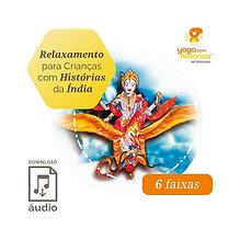 Álbum Relaxamento Para Crianças com Histórias da Índia