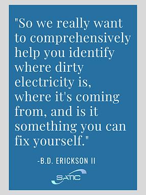 bd erickson dirty electricity