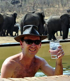 Beck Edwards in Hwange National Park