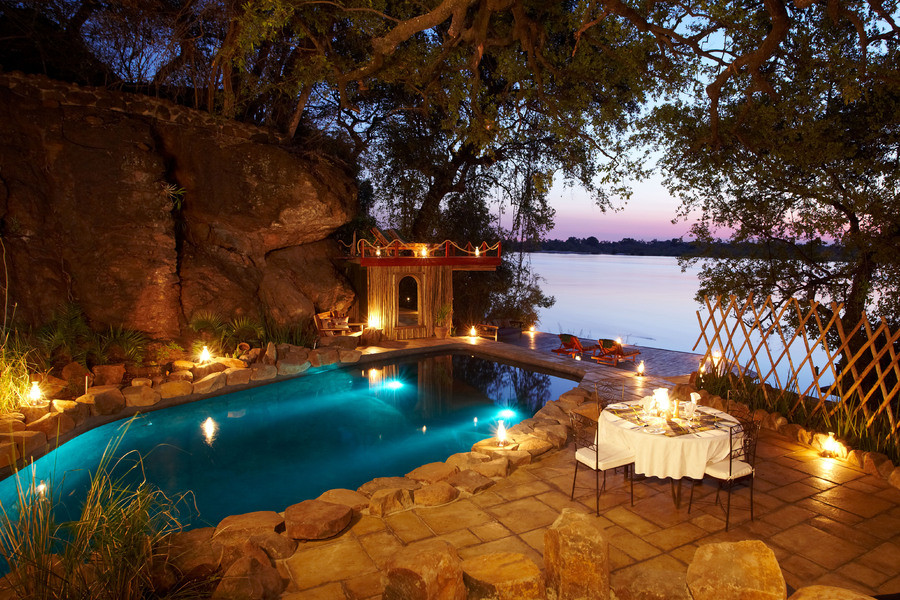 Tongabezi Lodge: Victoria Falls, Livingstone