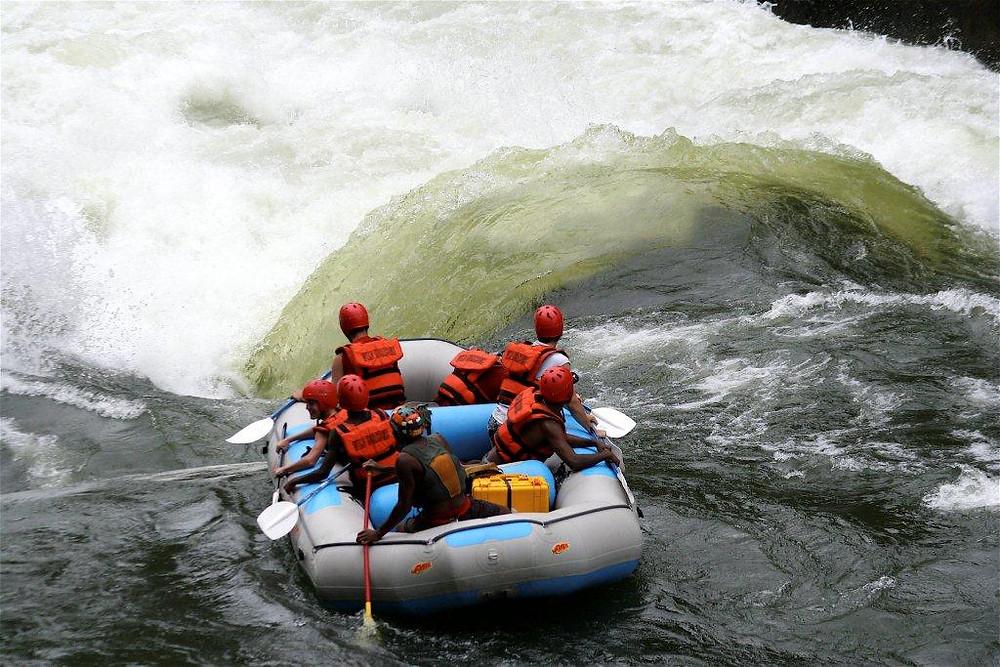 White Water Rafting: Victoria Falls, Zimbabwe