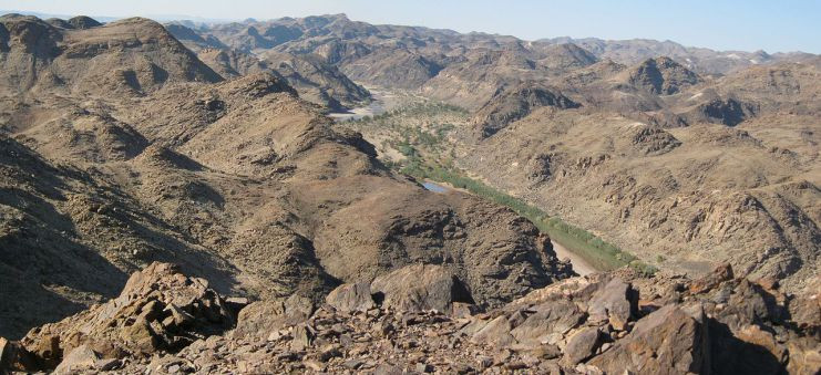 Fish River Canyon, Namibia. Image courtesy of Rudi Bosbouer.