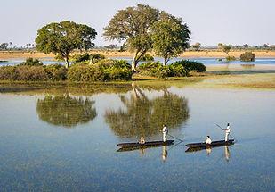 Safaris on the Okavango Delta in Botswana
