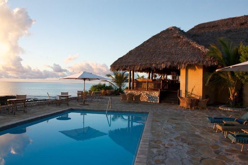 Pool at Medjumbe Lodge