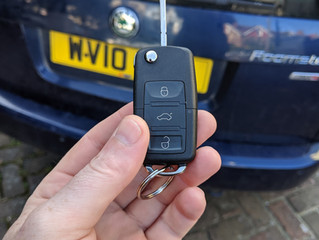 Spare skoda keys Lewes.